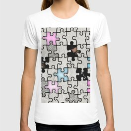 women and puzzle -2- T-shirt