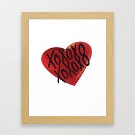 All my love Framed Art Print