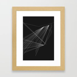 PRISMS DYSTOPIA Framed Art Print