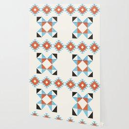 geometry navajo pattern no2 Wallpaper