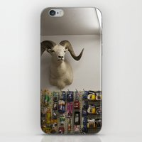 talking heads iPhone & iPod Skins featuring Heads by Joëlle Paquet