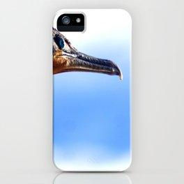 Cormorant Headshot iPhone Case