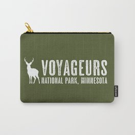 Deer: Voyageurs, Minnesota Carry-All Pouch
