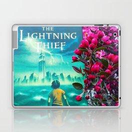 Percy Jackson & the Cherry Blossom Tree Laptop & iPad Skin