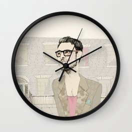 I´m hipster  Wall Clock