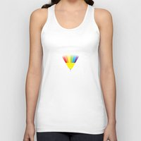 prism Tank Tops featuring Scary Prism by Badamg