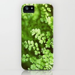 maidenhair iPhone Case
