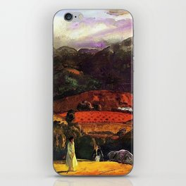 Mountain Valley Golf Course, California by George Wesley Bellows iPhone Skin