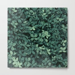 Garden Leaves Metal Print