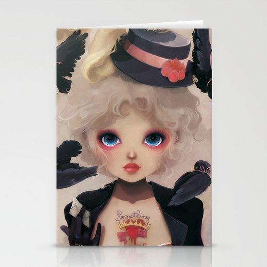 Les petits becs... Stationery Cards