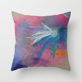 The Illusion is Real Throw Pillow
