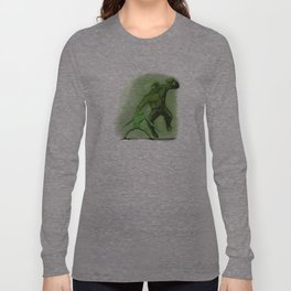 Fight! (in Green) Long Sleeve T-shirt