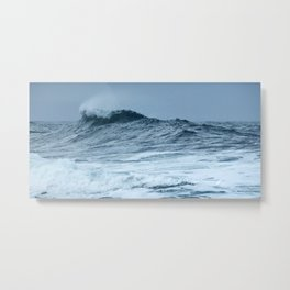 The Breaking Wave Metal Print