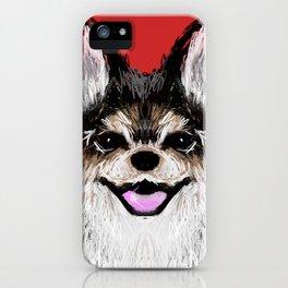 Happy Puppy iPhone Case