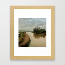 American River Framed Art Print