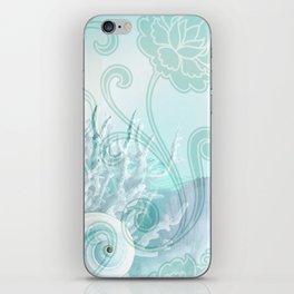 SEASHELL DREAMS | blue iPhone Skin