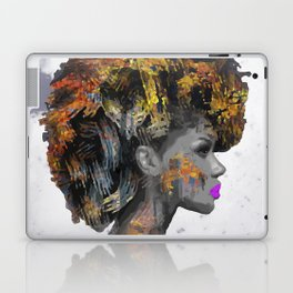 Afro-Girl Laptop & iPad Skin