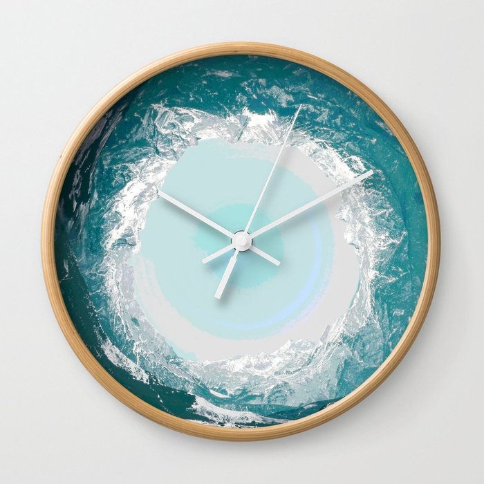 High tide came and swept you away Wall Clock