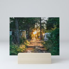 BAKKUM SUNSET Mini Art Print