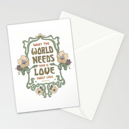 Love Sweet Love Stationery Cards
