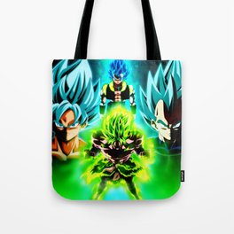 Dragon Ball Supero Movie Broly Tote Bag