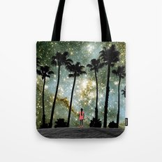 Paradise Galaxy Dream Tote Bag