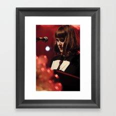 Kate Nash Framed Art Print
