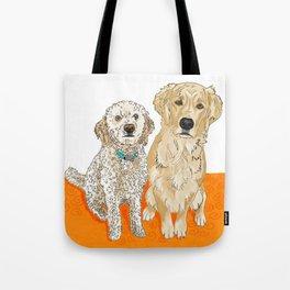 Two Buddies Tote Bag
