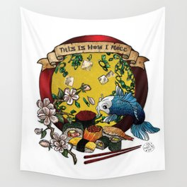 Soy Mates Wall Tapestry