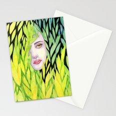 Botanical cage Stationery Cards