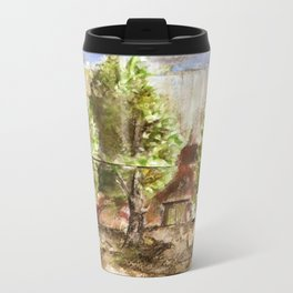 Backyard Metal Travel Mug