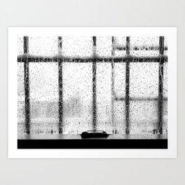When it rains in Brooklyn Art Print