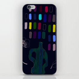 odds and ends iPhone Skin