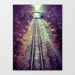 A Once Mighty Giant Canvas Print