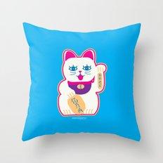 Neko Throw Pillow