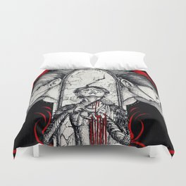 Blood mage Duvet Cover