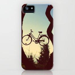 Bicycle Tree iPhone Case
