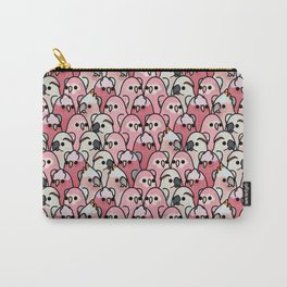 Too Many Birds!™ Pink Parrot Posse Carry-All Pouch