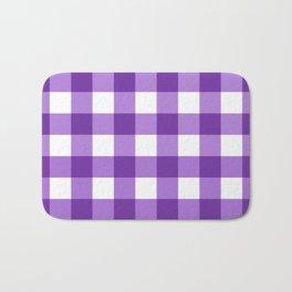 Purple Buffalo Check - more colors Bath Mat