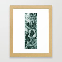 Green Abstract Eagle Nest Framed Art Print