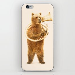 The Bear and his Helicon iPhone Skin