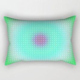 Ripple III Pixelated Rectangular Pillow