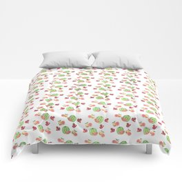Three Fruit Combo Pattern Comforters