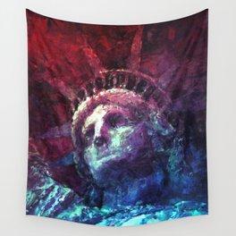 Patriotic Liberty Wall Tapestry