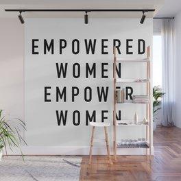 Empowered Women Wall Mural