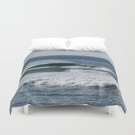 The Inky deep Duvet Cover
