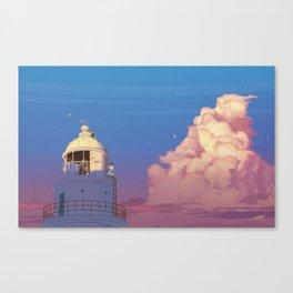 Goodbye summer days Canvas Print