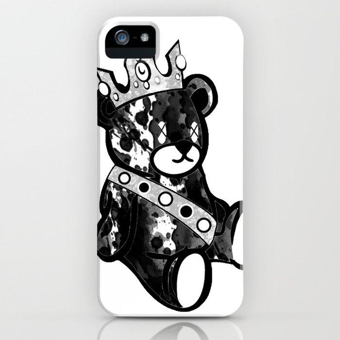 Bear King Splash iPhone Case