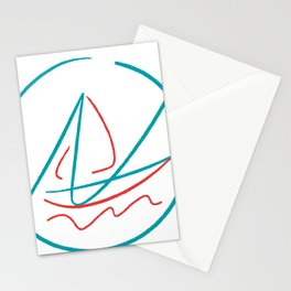 Nautic Ocean Stationery Cards