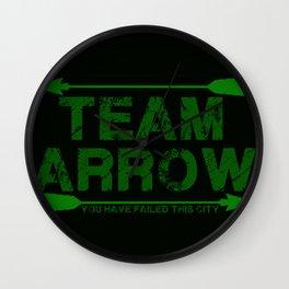 Team Arrow Wall Clock